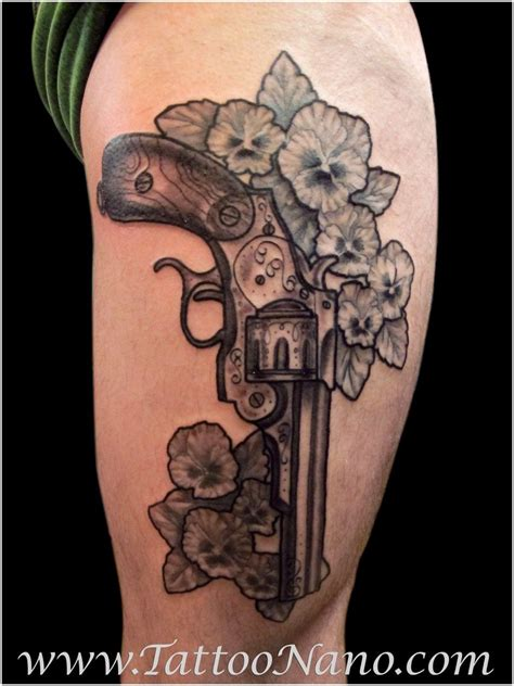 girly tattoos designs 35 awesome gun designs