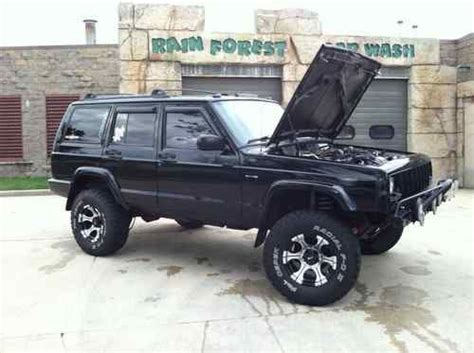 jeep cherokee xj grey sell used lifted 1999 jeep cherokee xj in new market