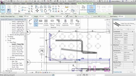 tutorial revit mep pdf revit mep 2013 tutorial systems tab electrical youtube