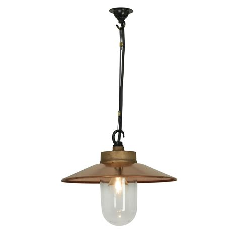 Davey Pendant Light Well Glass Pendant Light With Visor By Davey Lighting