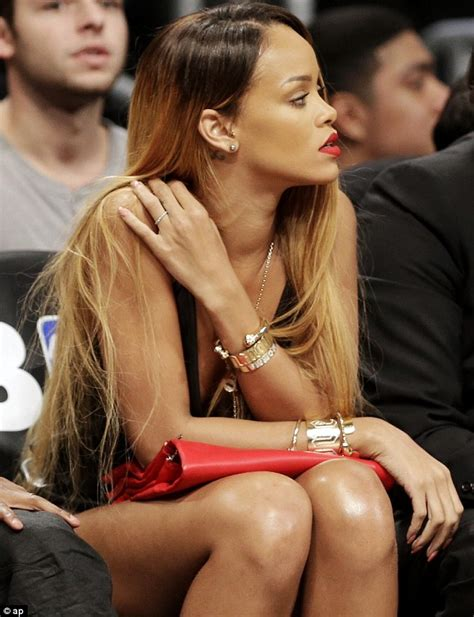 rihanna hairstyles games rihanna showcases super long and straight two tonal locks