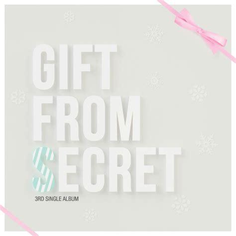 secret album single secret gift from secret 3rd single