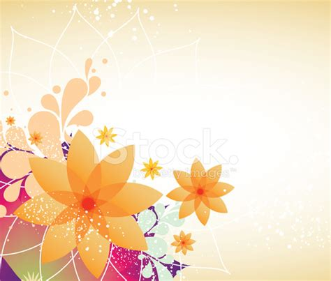 Single Garage Size by Spring Flower Background Stock Vector Freeimages Com
