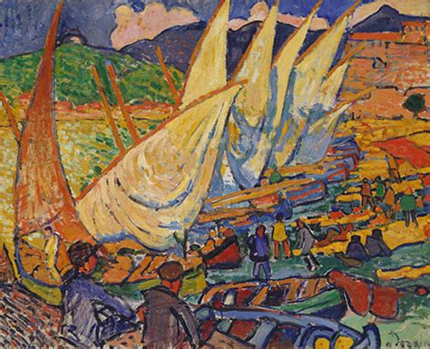 andre derain boats in the port of collioure fauvism essay heilbrunn timeline of art history the