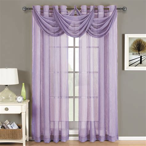 Lilac Sheer Curtains Lavender Comforters Ease Bedding With Style