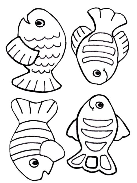 Sunday School Coloring Pages Fish | free creation coloring page fish printables and
