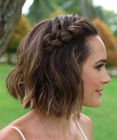 evening hairstyles for chin length hair super gorgeous chin length wedding hairstyles 2017