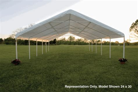 Industrial Canopy Shelterlogic 24 X 40 Ultra Max Industrial Frame Canopy