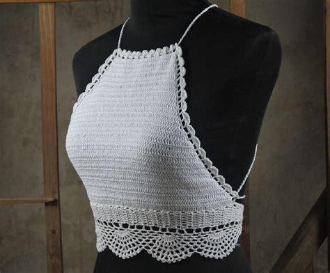 Handmade Swimsuits - handmade crochet crochet knitted crop tops
