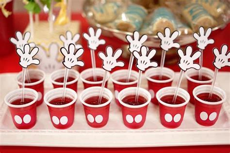 Kara's Party Ideas Colorful Mickey Mouse 1st Birthday Party   Kara's Party Ideas