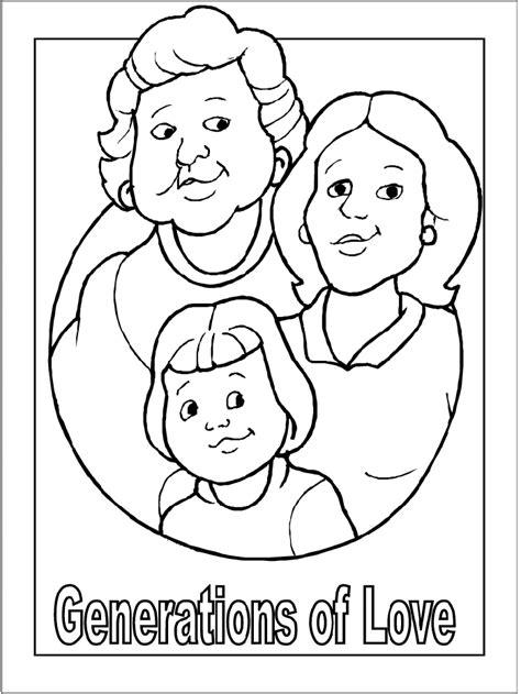 grandma coloring pages coloringpagesabc com