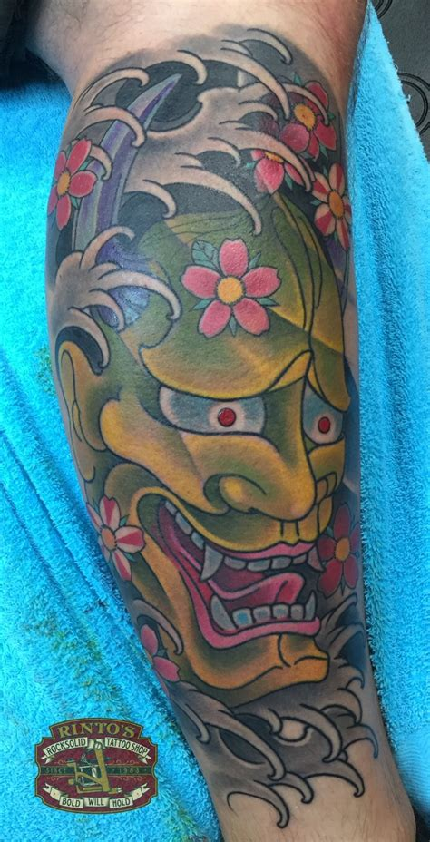 japanese oni tattoo japanese mask meaning images for tatouage