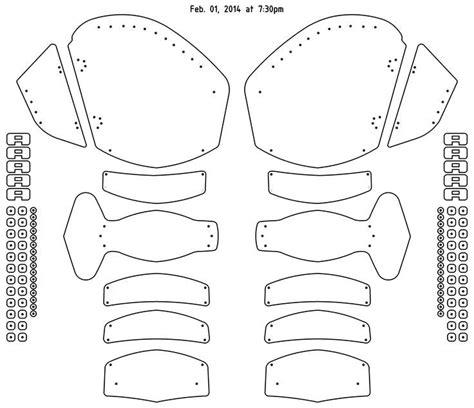 vincent gauntlet template 28 images of leather gauntlet template diygreat