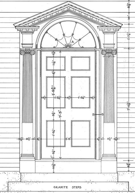 Architectural Pediment Design Pedimented Door Surround Curb Appeal Architecture Doors Georgian Architecture