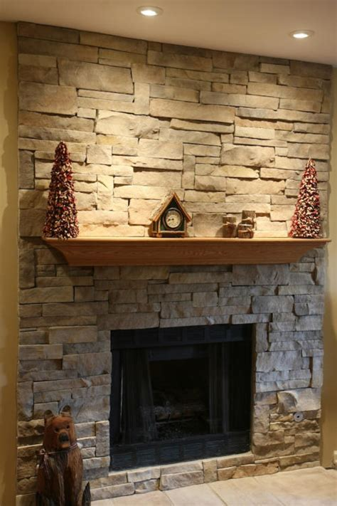 Your New Stone Fireplace: With or Without Mortar Joints