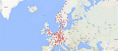 Tesla Supercharger Europe Map Model S Has You Covered Tesla Motors