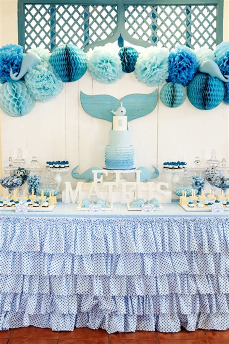 karas party ideas whale themed baptism birthday party karas party ideas