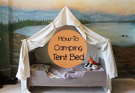how to build a tent cing themed bedroom how to build a tent bed on cing