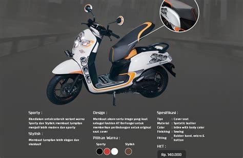 Paket Aksesoris Honda Scoopy Terbaru 1 aripitstop 187 daftar aksesoris all new scoopy