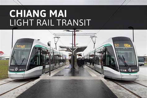 Light Rail System by Chiang Mai Citynews Another Light Rail Transit System