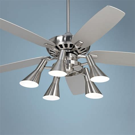Silver Ceiling Light Silver Ceiling Fan With Light Winda 7 Furniture