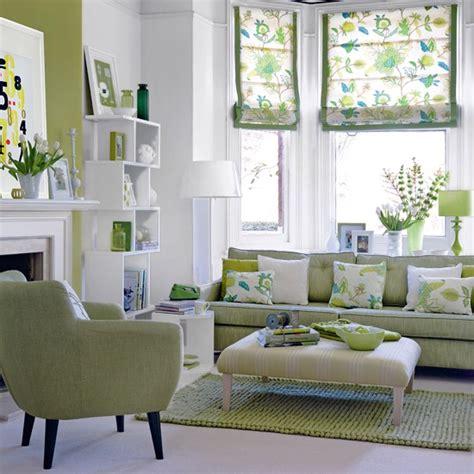 Modern Interior Design Living Room Green