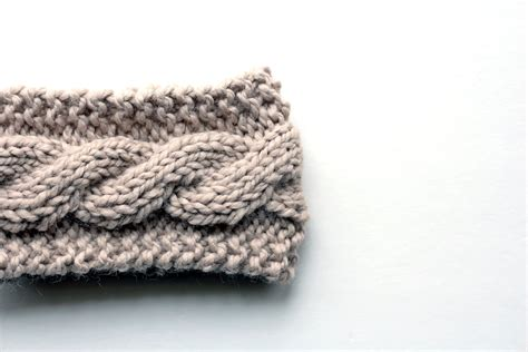 cable pattern knit youtube free friendship cable headband knitting pattern video
