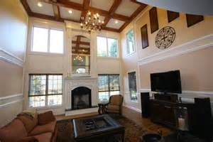 Window Treatment Ideas For Bathrooms Custom Fireplace Mantles Build Ins Traditional Living