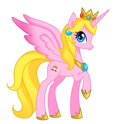 Pony Princess Peach By Berrysplash On Deviantart My Pony Princess Pictures