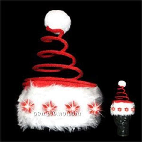 light up christmas star santa hat china wholesale light up