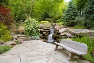 gartengestaltung wasserfall waterfalls cording landscape design