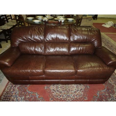 big brown leather sofa large 3 seater brown leather sofa froggatts of lincoln