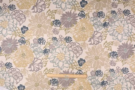 coastal fabrics for upholstery richloom invigorate printed cotton drapery fabric in coastal