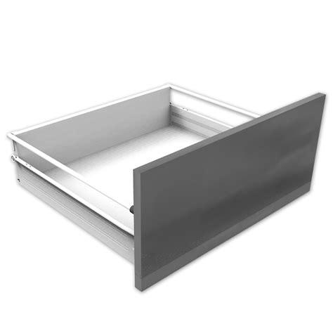 supra drawer range of single walled metal drawers