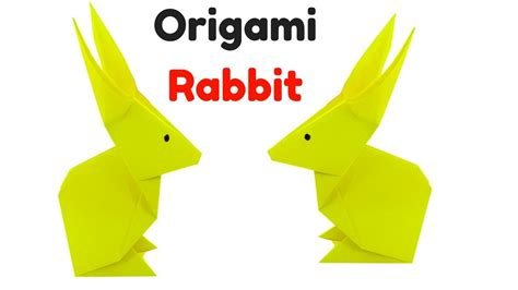 How To Make A Origami Rabbit - origami rabbit how to make an origami rabbit easter