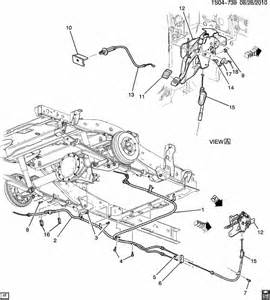 Brake System Parts Pdf How To Replace Emergency Brake Front Cable Assembly
