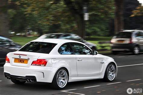 Bmw 1 Series Coupe by Bmw 1 Series M Coup 233 3 October 2013 Autogespot