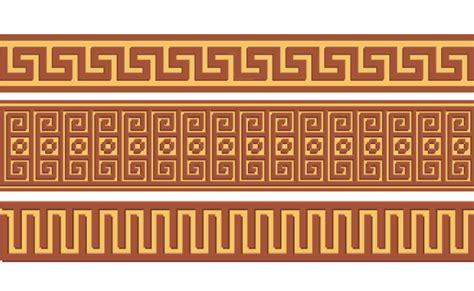 greek pattern name greek ornament pattern borders vector 02 vector frames