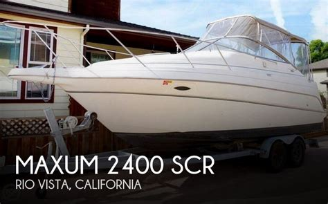 boats for sale rio vista california sold maxum 2400 scr boat in rio vista ca 131255