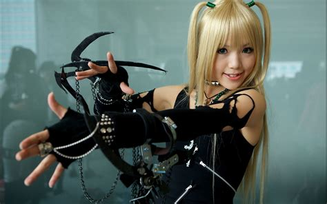 anime cosplay girl wallpaper anime death note cosplay wallpaper no 90426