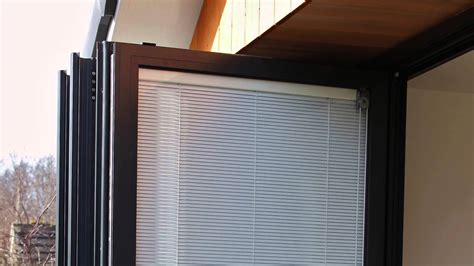 Tri Folding Patio Doors Discover Bi Fold Door Blinds Fitted Between Glass Youtube