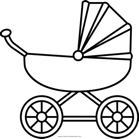 coloring pages baby carriage baby carriage coloring page coloring pages ideas reviews