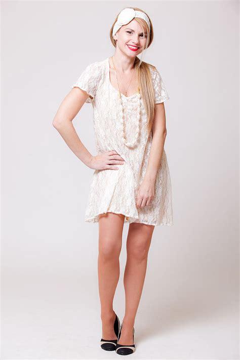 White Lace M L Xl Dress 31834 white lace tunic dress tunic dress lace blouse