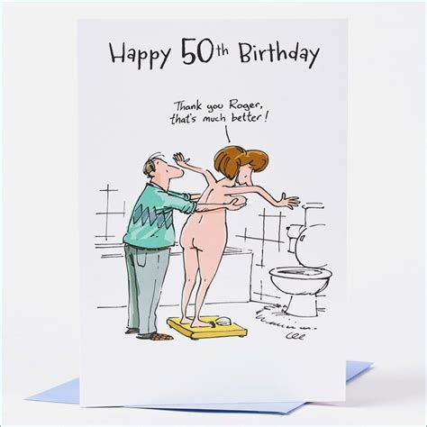 Personalised 50th Birthday Cards For Him