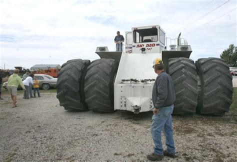 Resume Job Bash by Big Bud The Biggest Baddest Tractor Ever Built Will Be