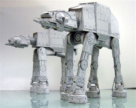 Paper Craft Wars - awesome diy wars papercraft technabob