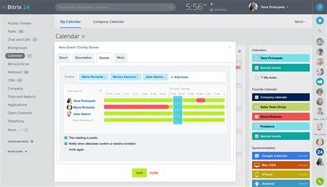 Bitrix24: Free collaboration tools