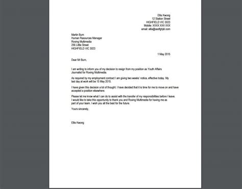 Resignation Letter Boilerplate Draft Of A Resignation Letter Design Templates Drawings Drawing