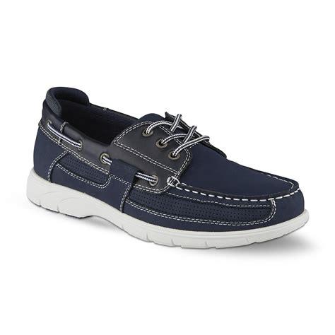 boat shoes online thom mcan men s schooner boat shoe navy shop your way