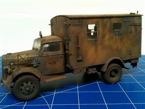 opel truck italeri 1 35 opel blitz radio truck armourpro